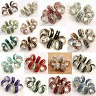 Wholesale Lot Crystal Rhinestone Double Rows Spacer Beads Fit EP Charms Bracelet