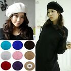 Wool Woman Useful Warm Protect Head Beret Beanie Hat Cap
