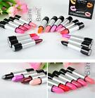 12 Colors Nude Pink Orange Purple Red Sleek Glossy Lipstick Makeup Lip Rouge