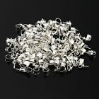100pcs 3mm Colors Silver Plated Pendant Connector Pearl Bail Pin Hot sale