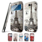 Smart Wake Up/Sleep Function Flip Cover Case For Samsung Galaxy S4 Mini i9190