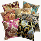Wa - Shimmer Flower Pattern Cotton Blend Cushion Cover/Pillow Case Custom Size