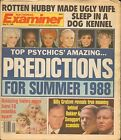 MAY 24 1988 NATOINAL EXAMINER tabloid magazine - LIZ TAYLOR - LUCILLE BALL