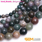 "Natural round smooth indian agate gemstone beads strand 15"",Jewelry Making beads"