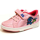 NEW DISNEY MONSTER UNIVERSITY VELCRO GIRLS PINK FASHION CASUAL TRAINERS UK SIZE