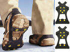 NEW SNOW STUD ANTI SLIP ICE GRIPPERS FOR BOOTS SHOES OVERSHOE SMALL MEDIUM LARGE