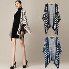 1X HOT Women Loose Batwing Sleeve Knit Cardigan Jumper Sweater Outwear Coat Tops