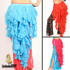 new belly dance hip scarf luxury ruffle fringes skirt shawl belt wrap 7 colors