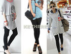 Cotton Pants Tight Women Good Quality Hot Stretchy Leggings  Ankle Length   K0E1