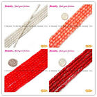 "Pretty Coral Flower Shap Jewelry Making Loose Beads Strand 15"" seed_beauty"