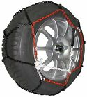 """9mm Car Tyre Snow Chains for 15"""" Wheels TUV Approved Green Valley TXR9"""