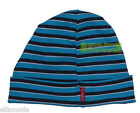 Name It Turquoise Blue Black & White Striped Beanie Hat Age 6-9 or 10-11 Years