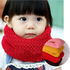 Stylish Baby Kids Toddler Infant Soft Warm Knitted Wrap Neckchief Scarf New O