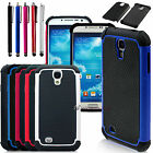 New Hybrid Galaxy 4 Case For Samsung S4 Siv I9500 Heavy Duty Rugged Impact Cover