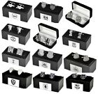 OFFICIAL FOOTBALL CLUB  - CREST CHROME CUFF LINKS CUFFLINKS BOXED - GIFT XMAS
