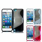 For Apple Ipod Touch 5 S Shape TPU Gel Phone Case Cover With Stand