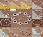 wholesale fashion jewelry solid Silver HIGH QUALITY Bangle/Bracelet+gift Box925
