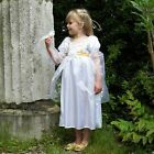 Christmas Angel deluxe fancy dress BNWT 3-11y Girls Satin Costume Wings Nativity