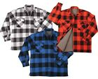 Rothco - Men's Extra Heavyweight Buffalo Plaid Sherpa-lined Flannel Shirts