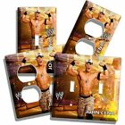 JOHN CENA WWE WWF SUPERSTAR WRESTLING CHAMPION LIGHT SWITCH OUTLET COVER PLATE