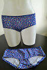 GEORGE Spotted Blue Cotton Briefs/ Shorts/ Boxers UK Sizes 8,10, 12, 14 & 16