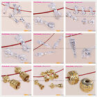 5pcs Beauty Buddhist Tibetan Silver Amulet Jewelry Making Spacer beads Charms