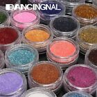 Shiny Glitter Sparkly Powder Nail Art Design Tips Dust Decorations 28 Colors