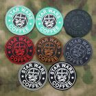 Starbucks Coffee Star Wars Darth Vader Tactic Tactical Morale 3D PVC Patch $6.49 CAD