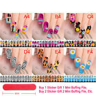 Nail Art Water Transfer Wraps Stickers Polish Foils Decals DIY Tips Decoration