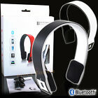 BRAND NEW DESIGN DJ BLUETOOTH 3.0 WIRELESS STEREO HEADPHONES MP3 IPOD IPHONE UK