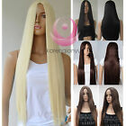 New Hot Womens 28' Long Cosplay Party Hair Wigs Heat Resistant Full Straight Wig