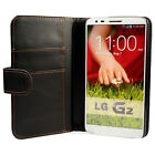 WALLET PU LEATHER FLIP CASE COVER FOR THE LG G2 !!