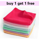 "1 Microfiber Cleaning Hand Car Wash Towels Rags Kitchen Small Cloth Hot 9""*9""  Q"