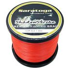 8Strands 1000M Orange Super Strong Dyneema Saratoga Braided Sea Fishing Line