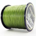 8Strands 300M Army Green Super Strong Dyneema Saratoga Braided Sea Fishing Line