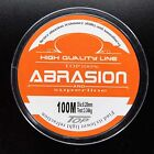 100M Nylon Line Mono Clear Super Strong Abrasion Sea Fishing Line From Japan