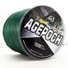 NEW!8Strands 1000M Moss Green Agepoch Super Strong Dyneema Braided  Fishing Line