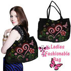 Ladies Women Shoulder Bag Beach School Shopping Handbag Girl Fashion Canvas Tote