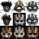 Внешний вид - Perseus Warrior Mardi Gras Party Costume Venetian Masquerade Men's Ball Mask