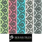 Berisfords Ribbons Baroque Polyester, 15mm 2 Metres, Modern And Stylish Pattern