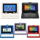 "iRulu 7"" Google Android 4.2.2 Tablet Capacitive 8GB Dual Camera w/ Keyboard"