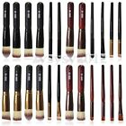 Pro Cosmetic Stipple Fiber Powder Blush Foundation Brush Kabuki Makeup Tool
