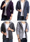 Chic Men's Warm Winter Knitwear Cardigan Casual Sweater Coat Jacket 4Colors NEW