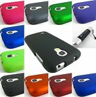 SAMSUNG GALAXY S IV 4 MINI HARD TWO PART SNAP-ON CASE COVER ACCESSORY+STYLUS/PEN