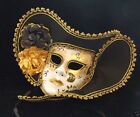 Fancy Pirate Mask Your Choice Colors Mardi Gras Masquerade Halloween Prom Party
