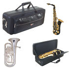 Crossrock by Chase Padded Gig Bag Soft Case Brass And Woodwind Shoulder Straps