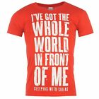 Band Tee Mens Sleeping With Sirens Printed Casual Tshirt Cotton T-shirt