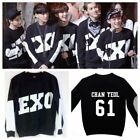 KPOP EXO Miracles in December Sweater SBS Gayo Daejun Daejeon Hoodie Long Sleeve