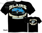 40 Willys Hot Rod T Shirts Blair's Speed Shop Clothing 1940 Vintage Gasser Drag