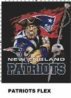 NFL New England Patriots Mascot cross stitch pattern $16.99 USD on eBay